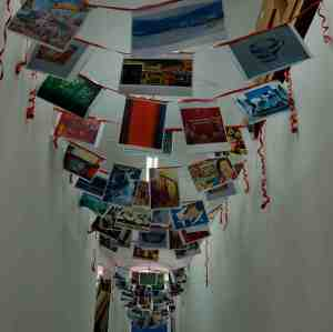 ART FLAG BUNTING DeIRDRE ROBB PORTVIEW TRADE CENTRE