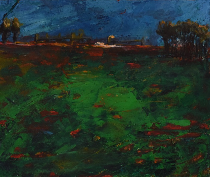 illuminated_land_series #4_20cmX16cm_acrylic_on_paper